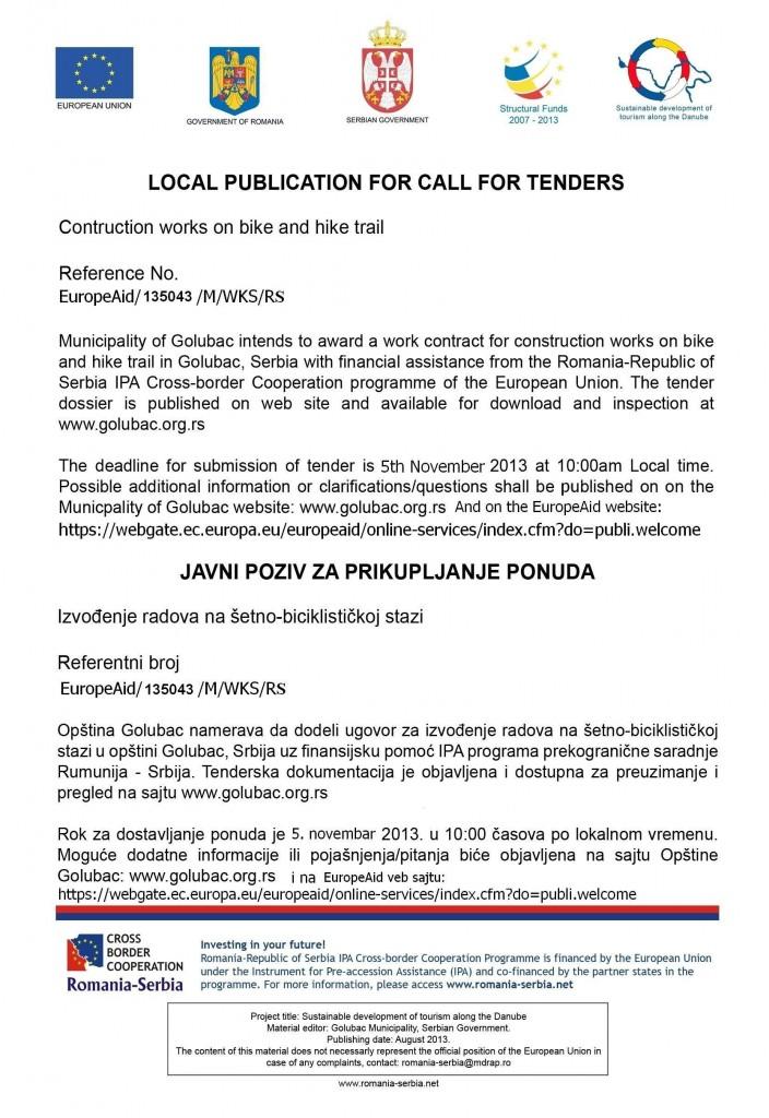 Javni poziv 05.11.2013.