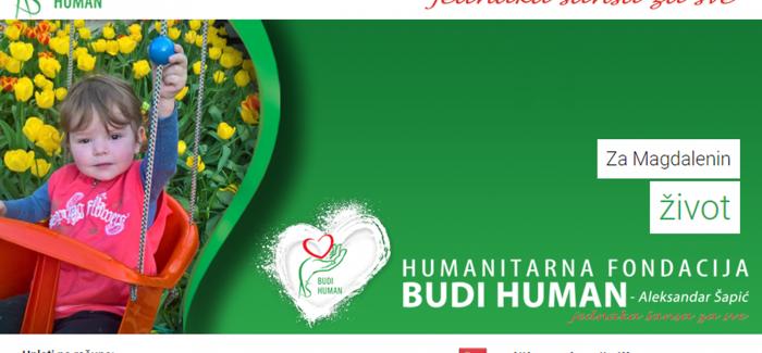 HUMANITARNA FONDACIJA – BUDI HUMAN